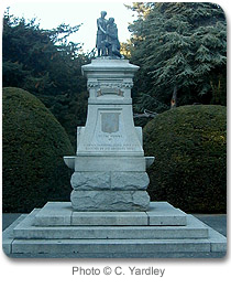 A Monument in Beacon Hill Park