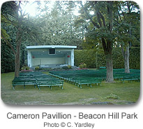 Cameron Pavilion - Beacon Hill Park